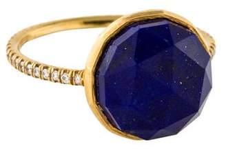 Irene Neuwirth 18K Lapis & Diamond Ring