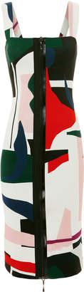 Cushnie et Ochs Orlena Abstract Print Dress