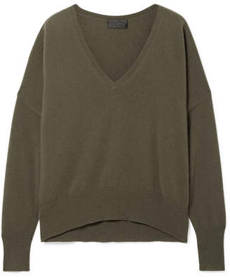 Nili Lotan Savannah Cashmere Sweater - Green