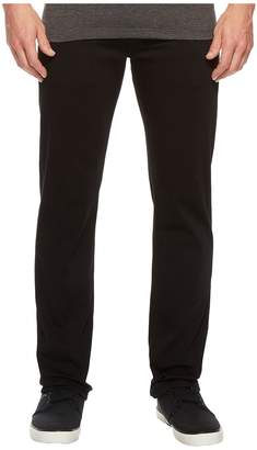 34 Heritage Courage Straight Fit in Select Double Black Men's Jeans