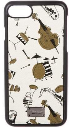 Dolce & Gabbana 2017 Jazz Instruments iPhone Case