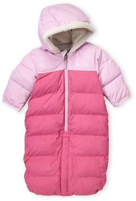 Columbia Newborn/Infant Girls) Pink Pike Lake Convertible Coveralls