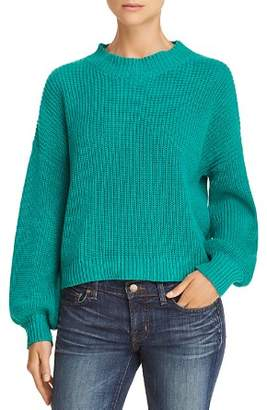 Honey Punch Balloon-Sleeve Sweater