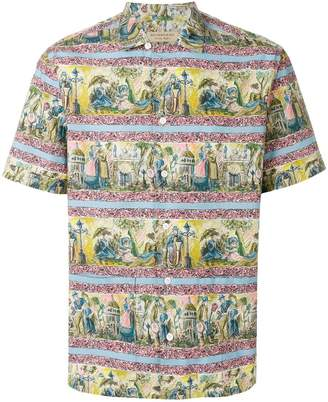 Burberry Victorian print shirt