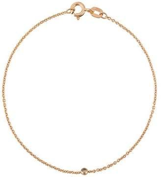 Wouters & Hendrix Gold 18kt gold single champagne diamond bracelet