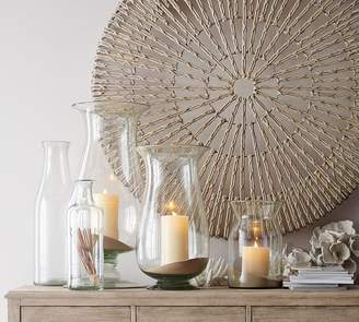 Pottery Barn Recycled Glass Bottle