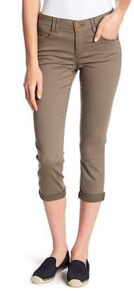 Democracy Stretch Knit Twill Rolled Pants