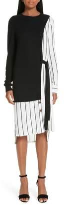 Yigal Azrouel Silk & Cashmere Dress