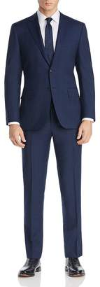 Canali Tonal Prince of Wales Plaid Siena Regular Fit Suit