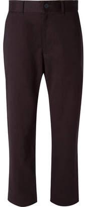 Studio Nicholson Bill Tapered Brushed Cotton-Twill Trousers