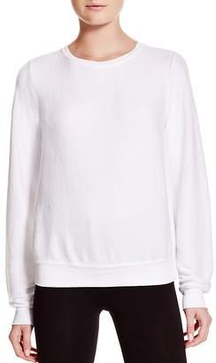 Wildfox Couture Clean White Sweatshirt