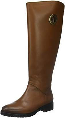 5ad13b229 Tommy Hilfiger Women s Basic Th Riding Boot Leather High