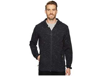 Quiksilver Waterman Tech Fleece Zip-Up Hoodie Men's Clothing