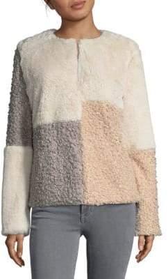 Sam Edelman Patchwork Reversible Jacket