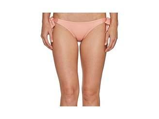 Vince Camuto Draped Solids Side Tie Bikini Bottom Women's Swimwear