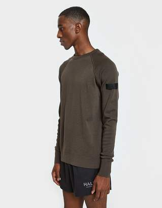 Halo Crew Neck Thermal SNS in Army Amber