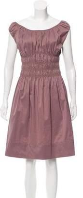 Diane von Furstenberg Off-The-Shoulder Fit & Flare Dress