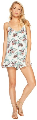 Roxy - Fantastic Isle Romper Women's Jumpsuit & Rompers One Piece $39.50 thestylecure.com