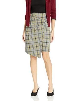 Ellen Tracy Women's Bow Front Skirt