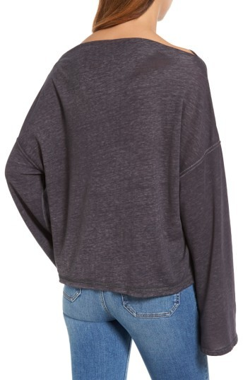 Women's Treasure & Bond Slouchy Fleece Pullover 4