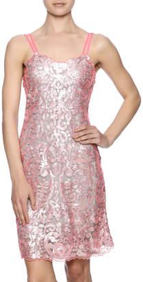 Yoana Baraschi Light Sequin Slip Dress