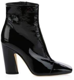 Jimmy Choo Mirren Patent Leather Booties/4""