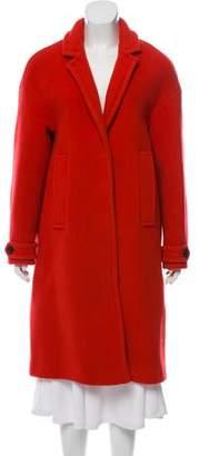 Burberry Virgin Wool Long Coat
