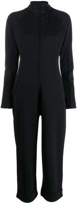 Y-3 zipped-up jumpsuit