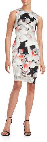Calvin KleinCalvin Klein Floral Sheath Dress