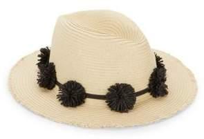 Ava & Aiden Pom-Pom Fedora Hat