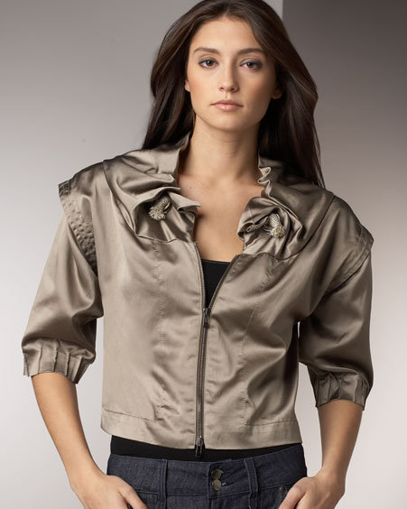 Kooba Satin Jacket