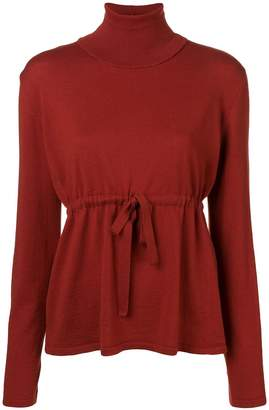 Societe Anonyme high neck knitted top