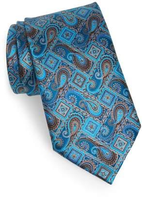 Ermenegildo Zegna Quindici + Quindici Paisley Silk Tie