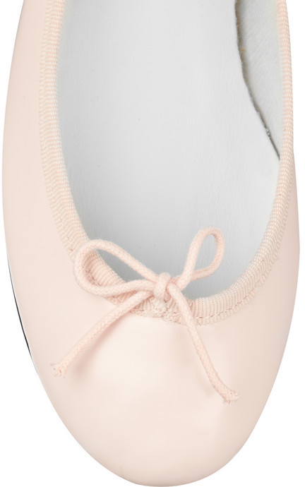 Repetto The Cendrillon glossed-leather ballet flats