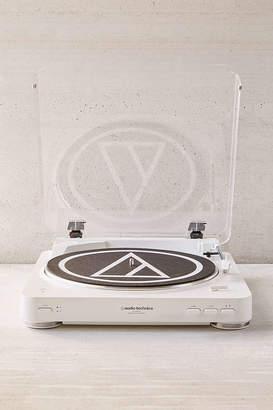 Audio-Technica White AT-LP60 Bluetooth Record Player