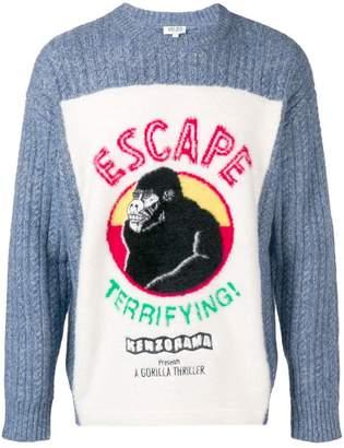 Kenzo Escape round neck sweater