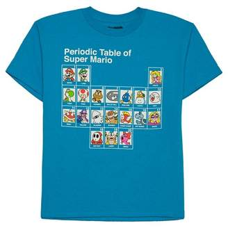 Nintendo Boys' Nintendo® Mario Elements T-Shirt - Blue $8.99 thestylecure.com
