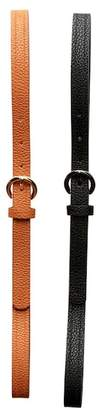 Lodis 2-for-1 Fancy Line Embossed Belts