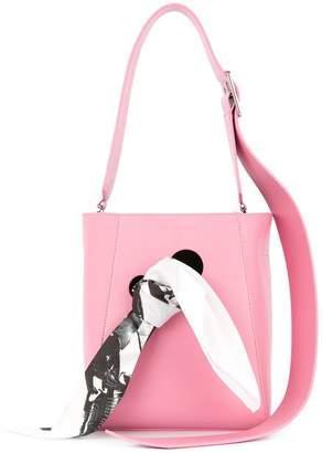 Calvin Klein scarf shoulder bag