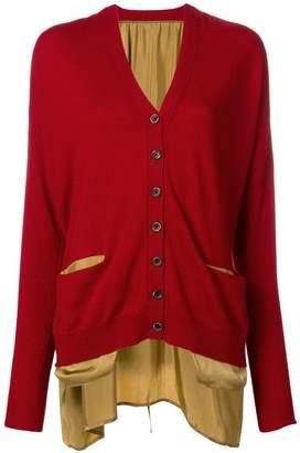Uma Wang cashmere knitted buttoned cardigan