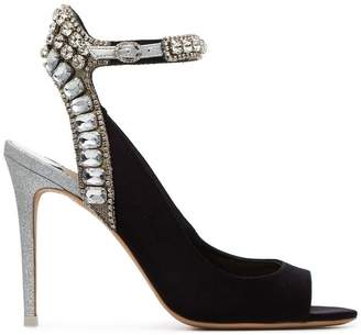 Sophia Webster Lorena 100 crystal sandals