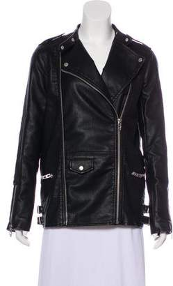 Blank NYC Zip-Up Biker Jacket