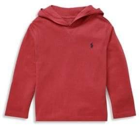 Ralph Lauren Little Boy's& Boy's Cotton Jersey Hoodie