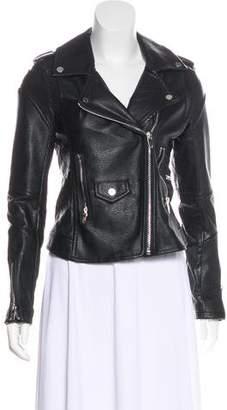 Blank NYC Faux Leather Biker Jacket