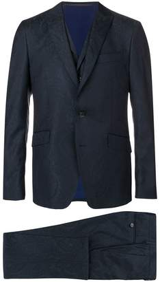 Etro paisley print two piece suit
