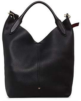 Anya Hindmarch The Bucket Circle In Mini Grain Shoulder Bag