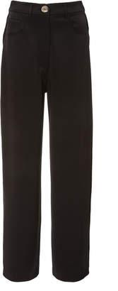 Nanushka Marfa Wide Leg Satin Pants