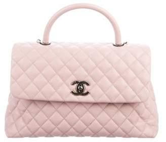 Chanel 2017 Medium Coco Handle Bag Mauve 2017 Medium Coco Handle Bag