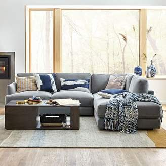 west elm Haven 2-Piece Terminal Chaise Sectional