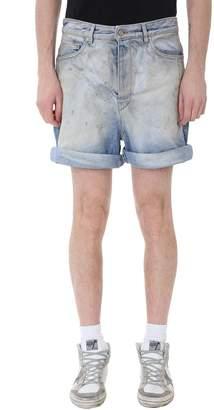 Golden Goose Bobby Blue Denim Shorts